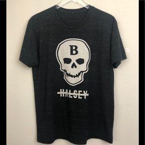 Halsey Dark Gray Skull T-Shirt